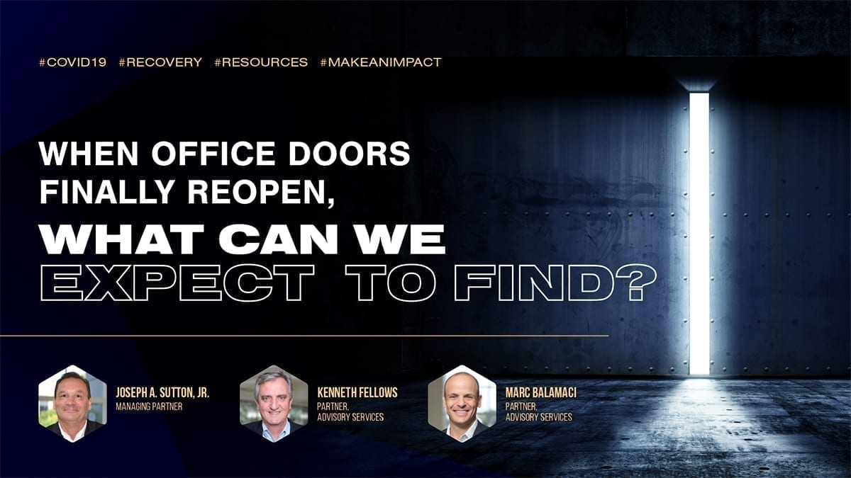 When Office Doors Finally Reopen, What Can We Expect To Find?
