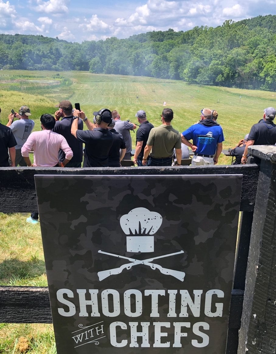 Edge Sponsors Annual Shooting with Chefs Event